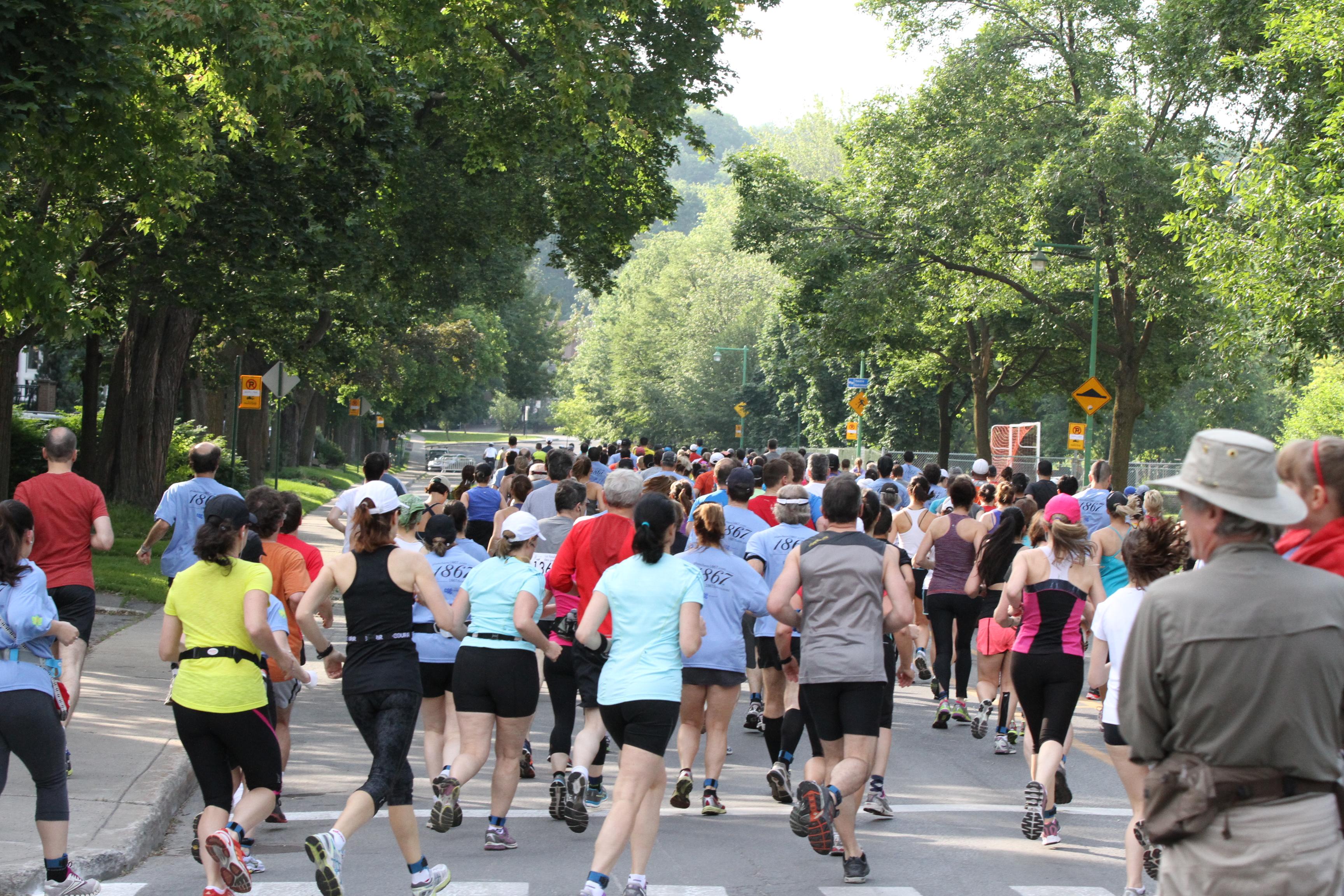 La foulée des parcs 2013