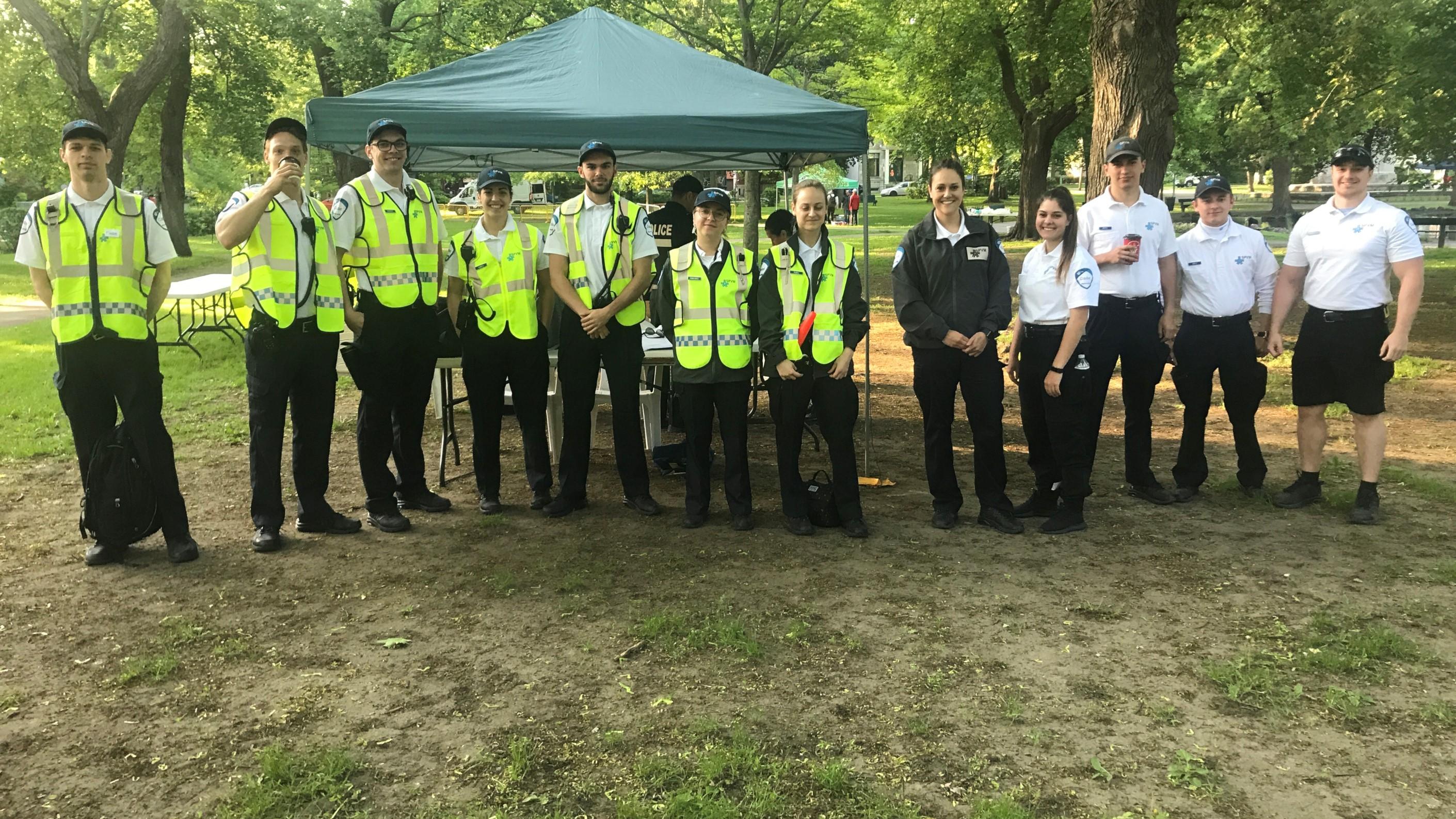Foulée des Parcs 2019 Equipe Police Widescreen