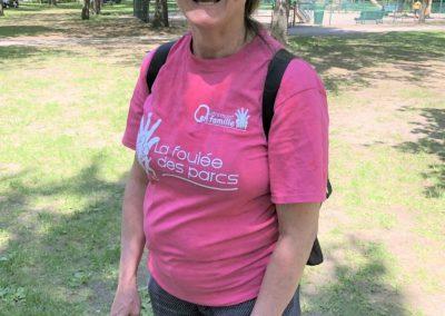 Foulée des Parcs 2019 Bénévoles Responsables en Fin de Course Roxanne