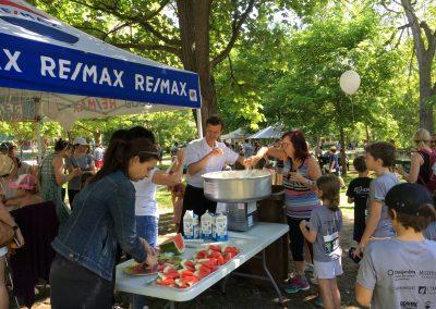 Foulée des Parcs 2019 Commanditaire Remax Tente