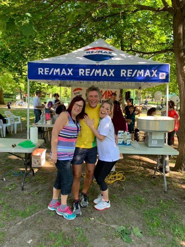 Foulée des parcs 2019 Commanditaire Remax Serge Brosseau