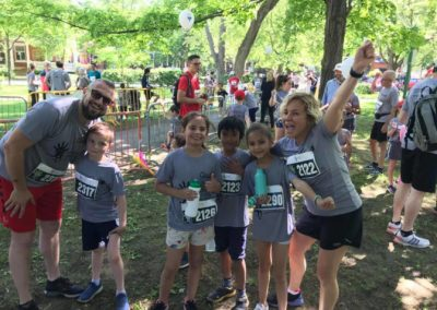 Foulée des Parcs 2019 Coureurs hors course 2km 2