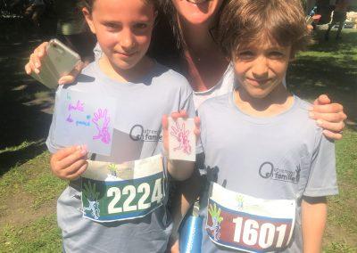 Foulée des Parcs 2019 Coureurs hors course Olivia Levy