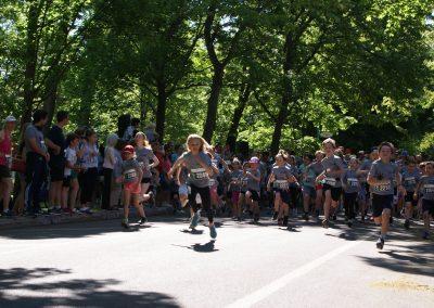 Foulée des Parcs 2019 Départ Course en MVT 2 KM Jeune Fille Lead