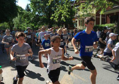 Foulée des Parcs 2019 Départ Course en MVT Coureurs 5 KM