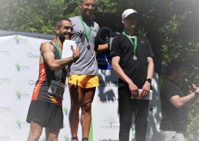 Foulee des Parcs 2019 Gagnants 10KM  Hommes