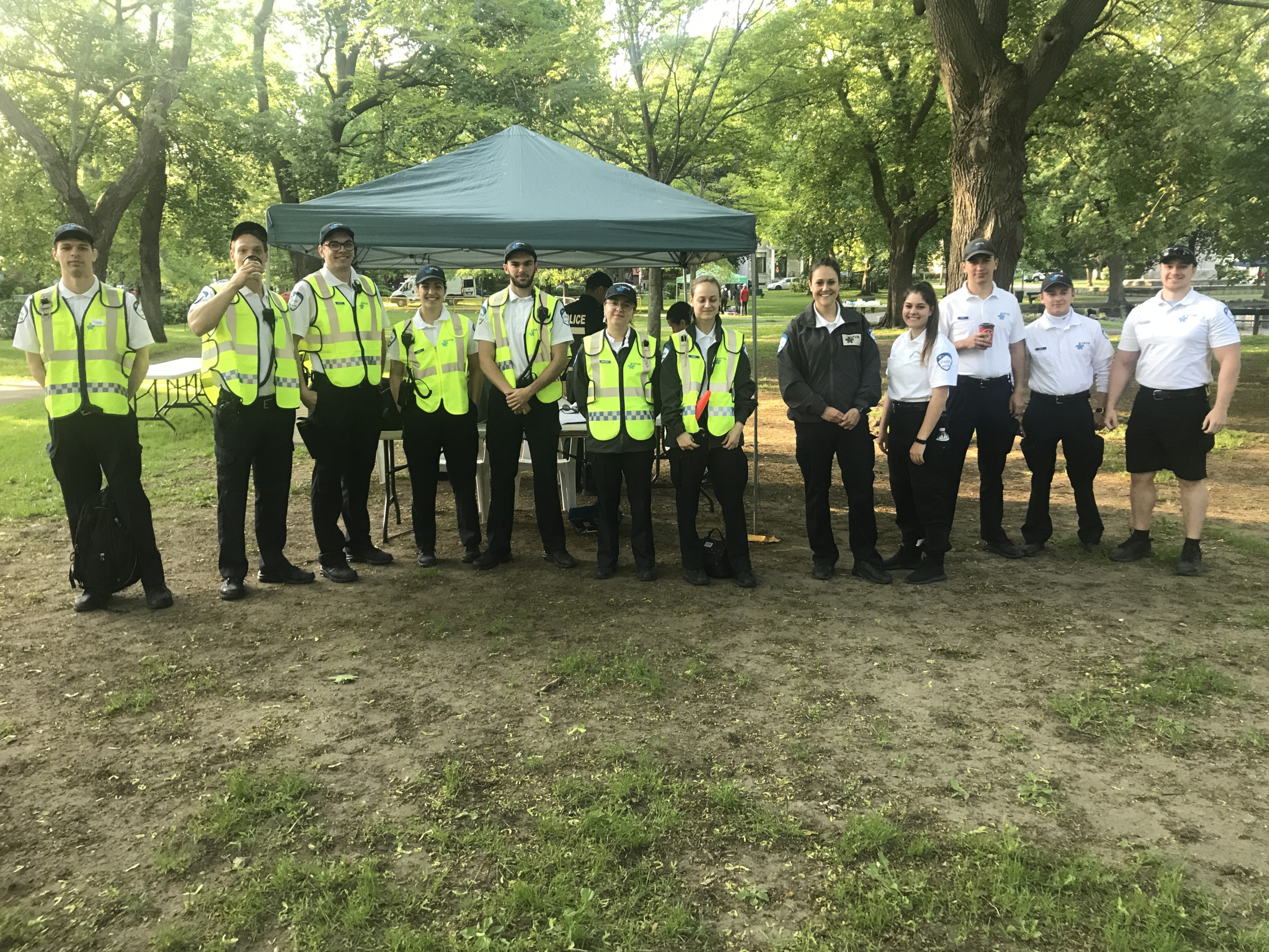 Foulée des Parcs 2019 Equipe Police