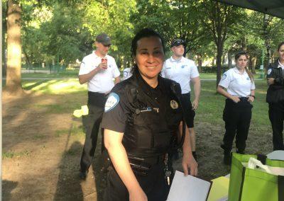 Foulée des Parcs 2019 Nadia Police