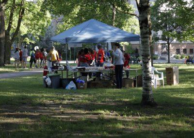 Foulées de Parcs 2019 Tente Bénévoles à améliorer 2